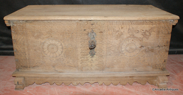 Bleached Oak Coffer