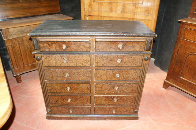 French Scumbled Chest of Drawers