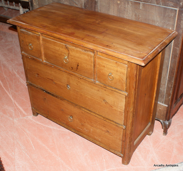 Swedish Pine Chest of Drawers