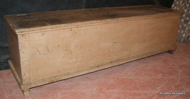 Original Painted French Coffer
