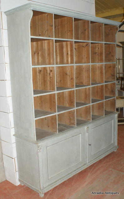 Painted French Shop Fitting