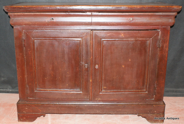 French Original Painted Buffet