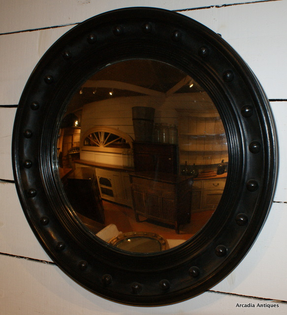 Black Painted COnvex Mirror
