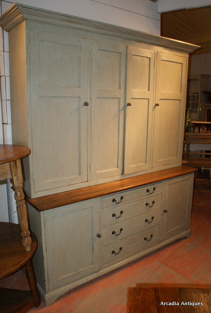 Large Painted House Keepers Cupboard