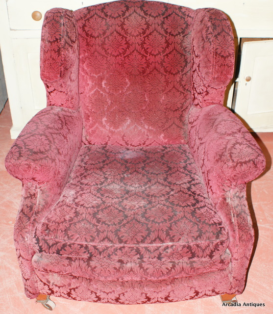 Country House Style Wing Chair