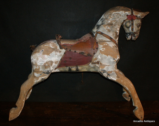Carved Wooden Horse