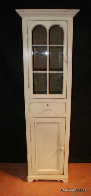 Glazed Chimney Cupboard Antique Cupboards