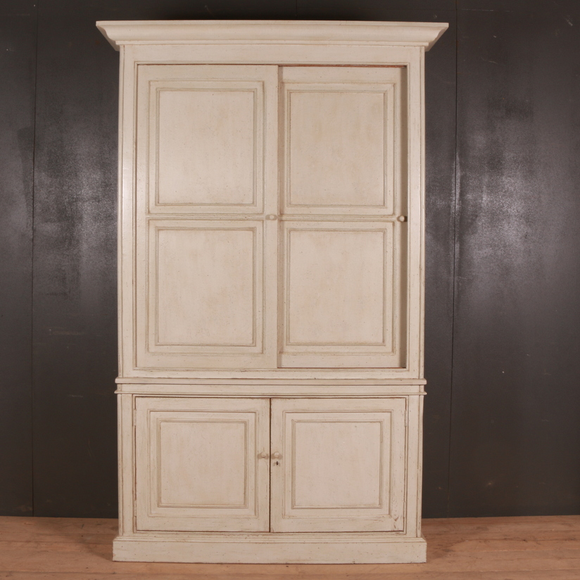 Antique English Linen Cupboard