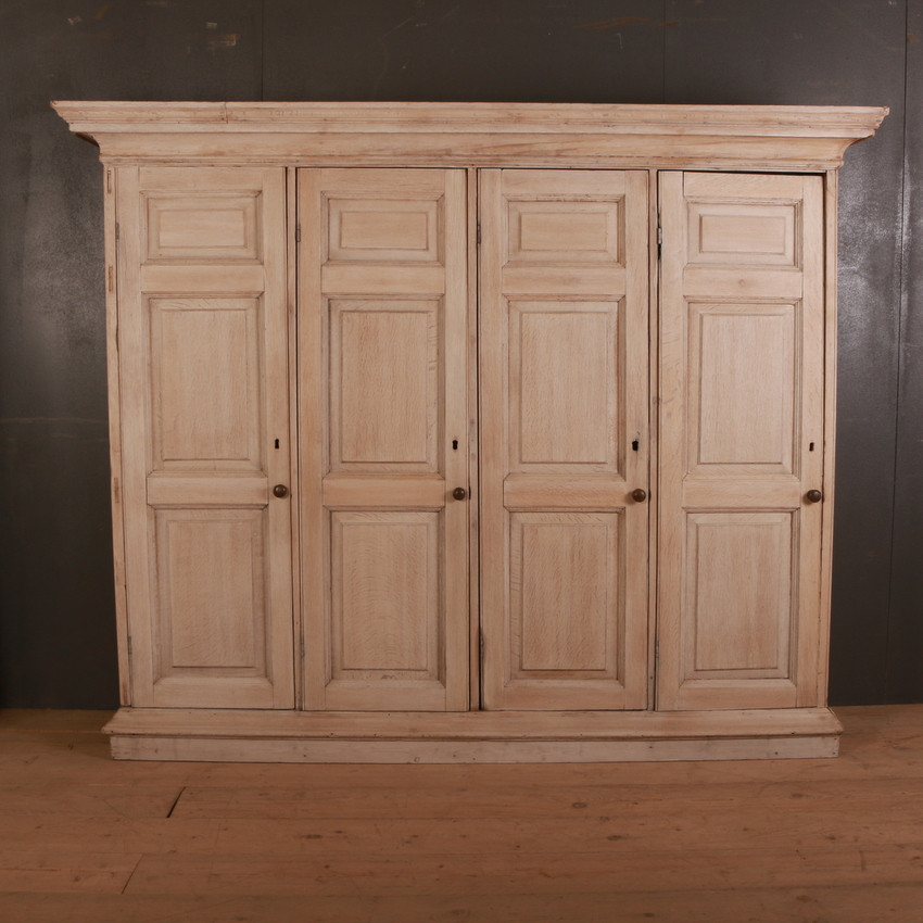 Antique Oak Housekeepers Cupboard