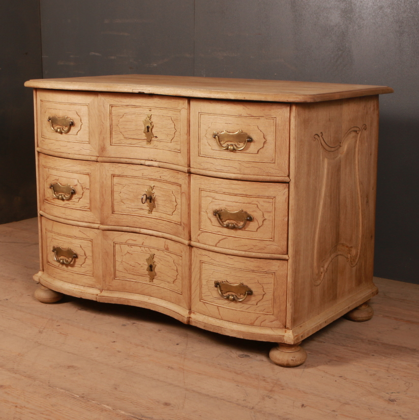Austrian Serpentine Commode