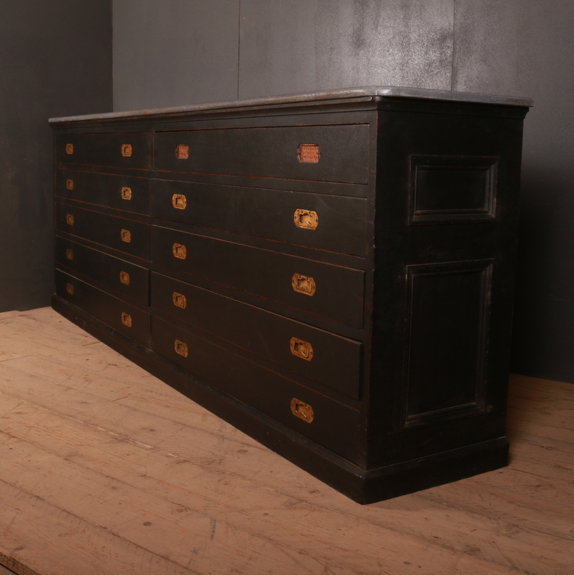 Bank of Tailor Drawers