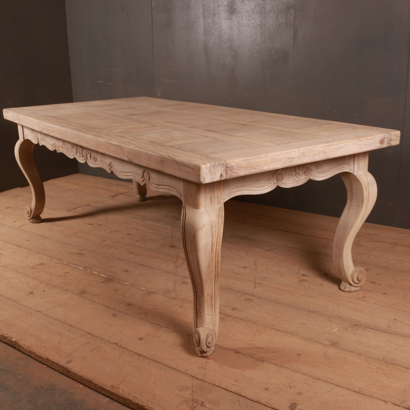 Bleached Oak Centre Table