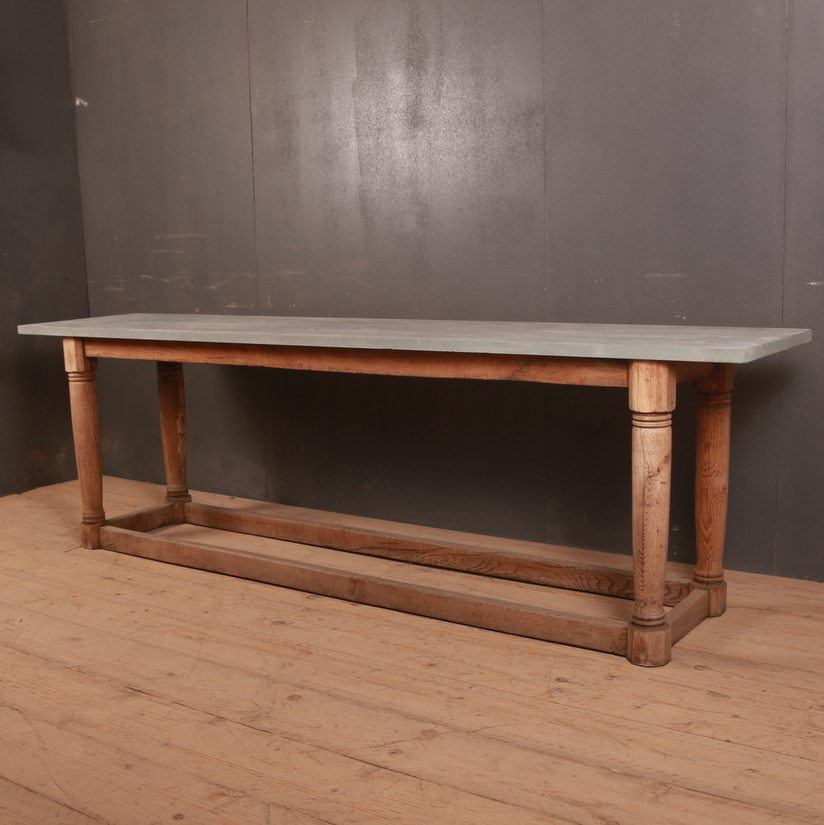 Bleached Oak Serving Table