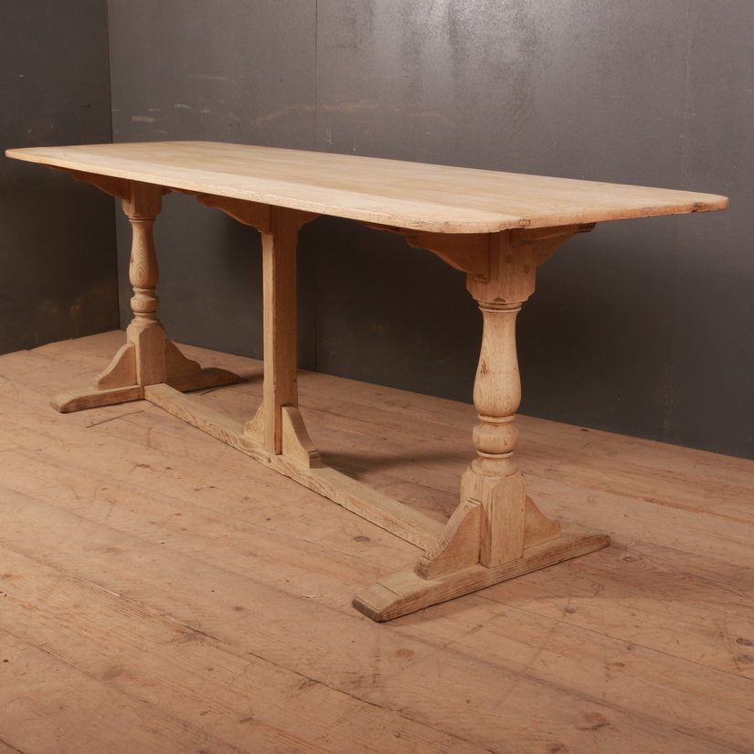 Bleached Oak Tavern Table