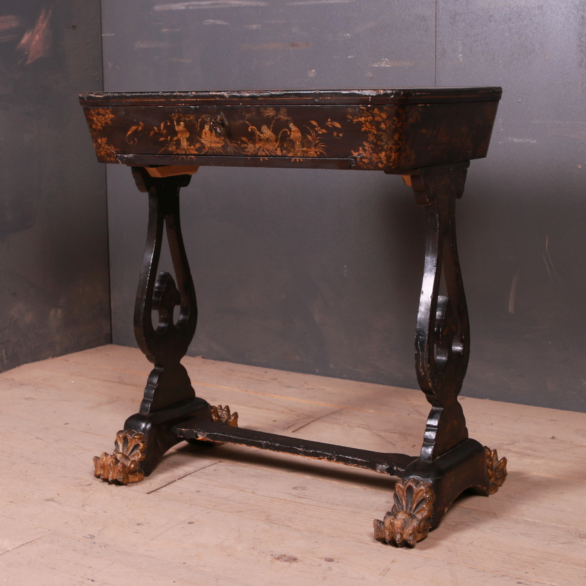 Chinoiserie Lamp Table