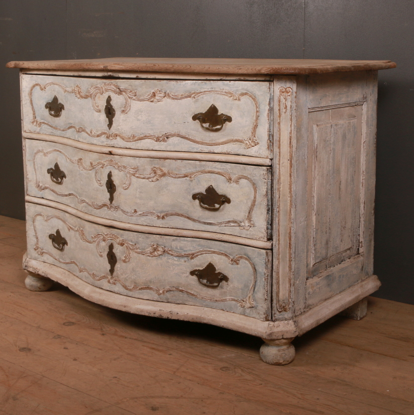 Danish Serpentine Commode
