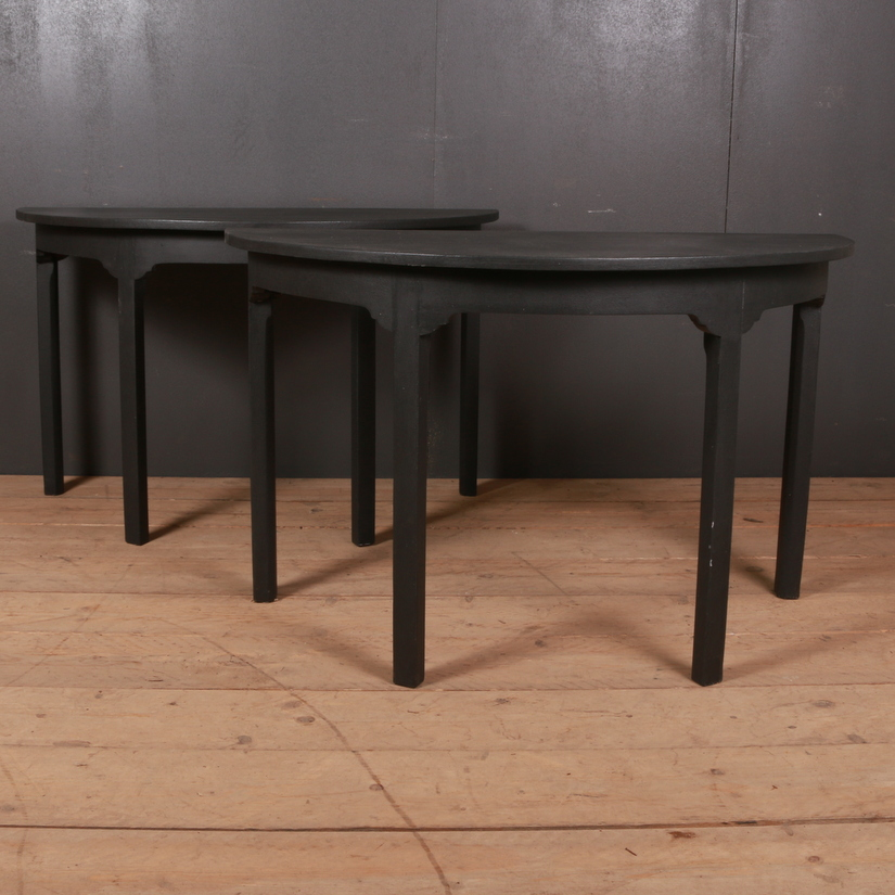 Demi-Lune Console Tables