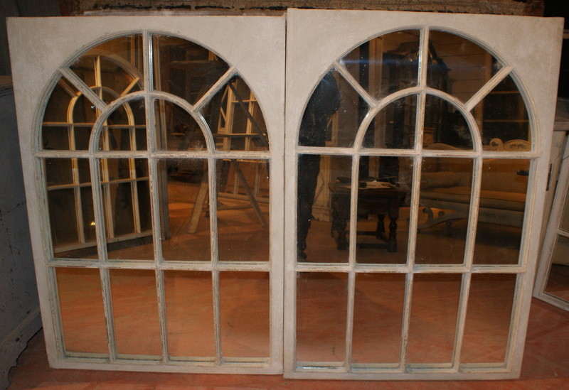 Georgian Style Window Mirrors
