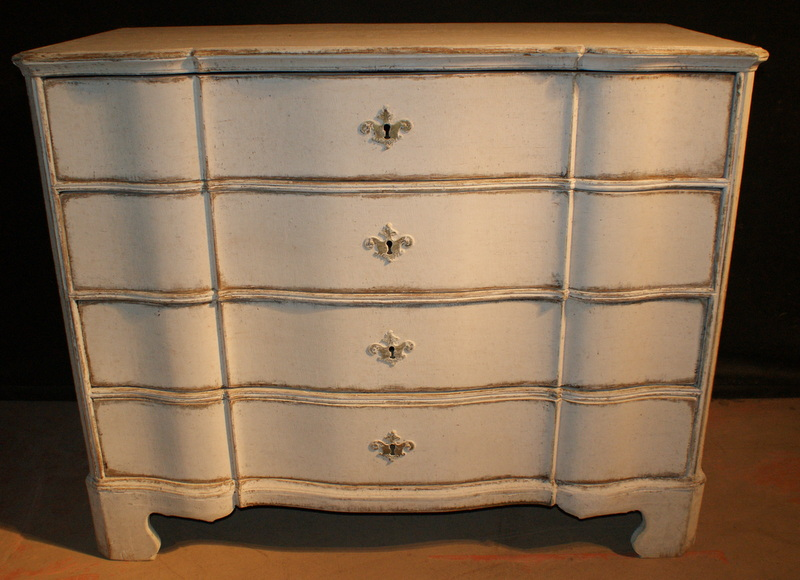 Swedish Painted Commode
