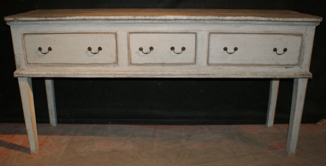 Custom Made Painted Dresser Dase