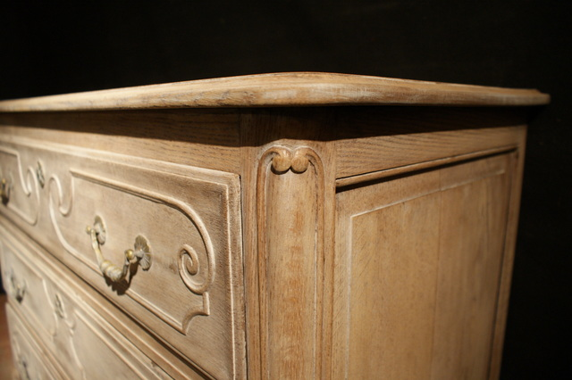 French Bleached Commode