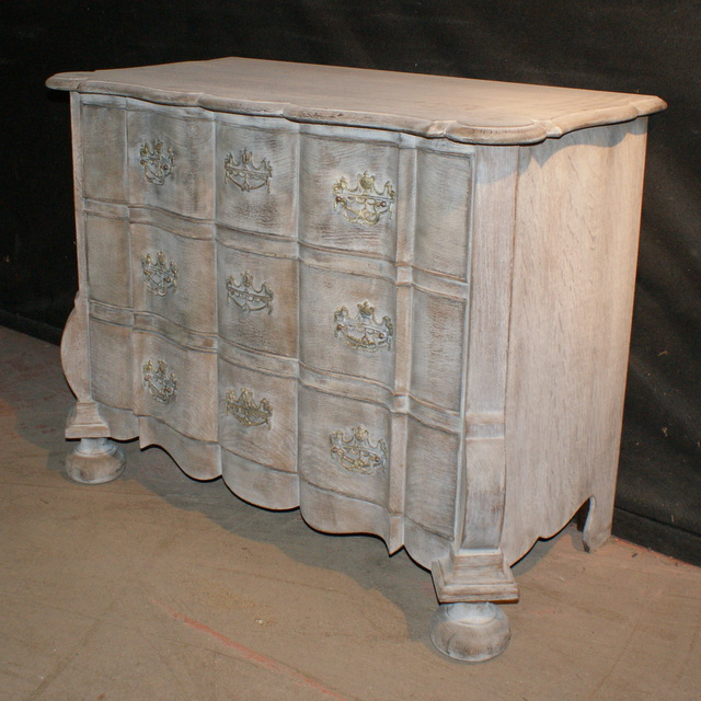 Bleached Commode