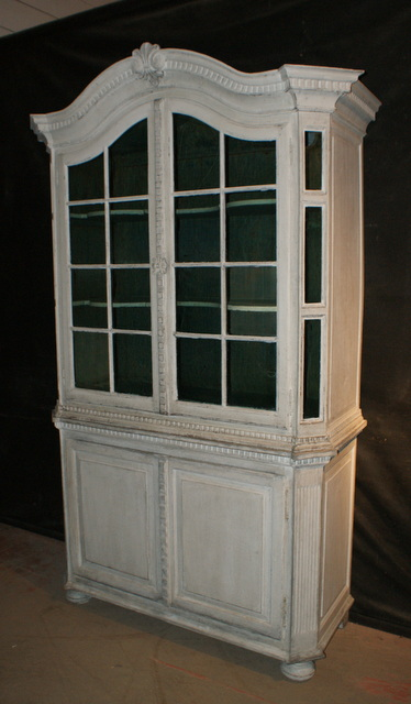 Swedish Glazed Cupboard