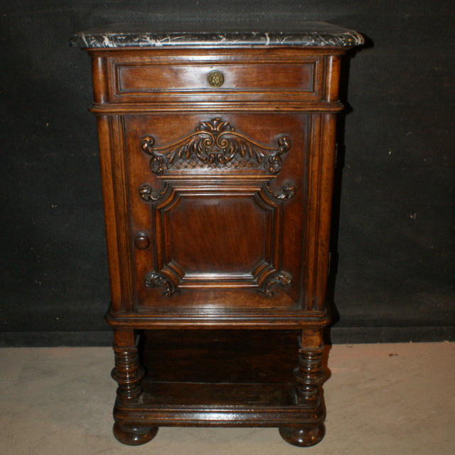 French Walnut Side Cabinet