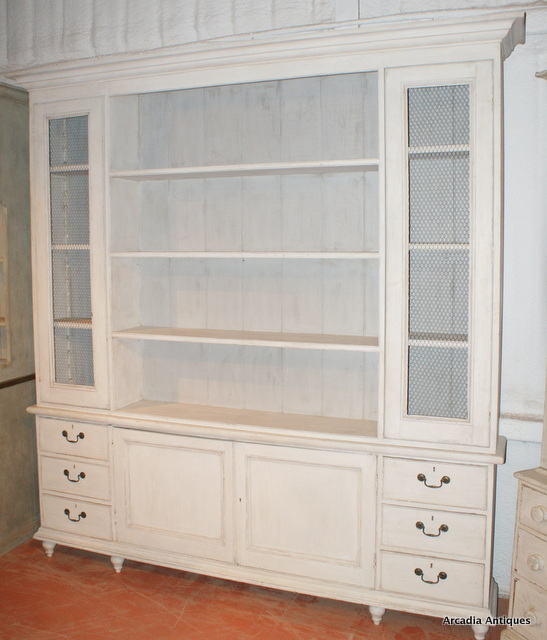 Painted Bookcase/Dresser