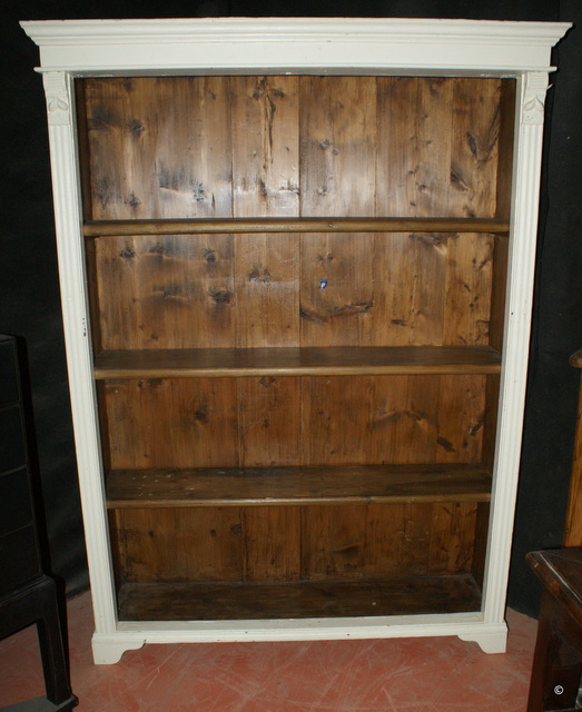 Antique Open Bookcase