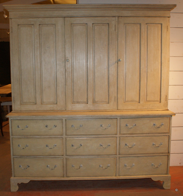 Original Painted Housekeepers Cupboard