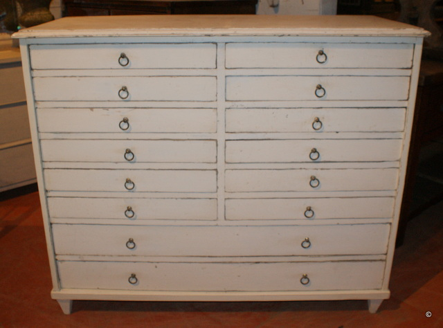 Chest of 16 Drawers