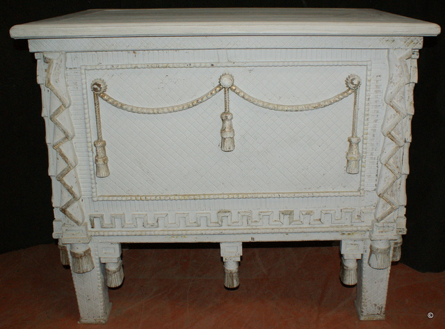 Carved Norwegian Chest