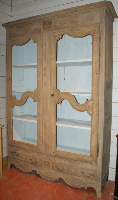 Bleached French Cupboard