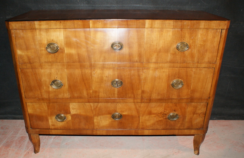 Birch Biedermeier Commode