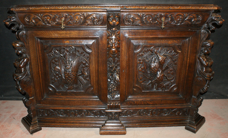 Carved Italian Credenza / Buffet