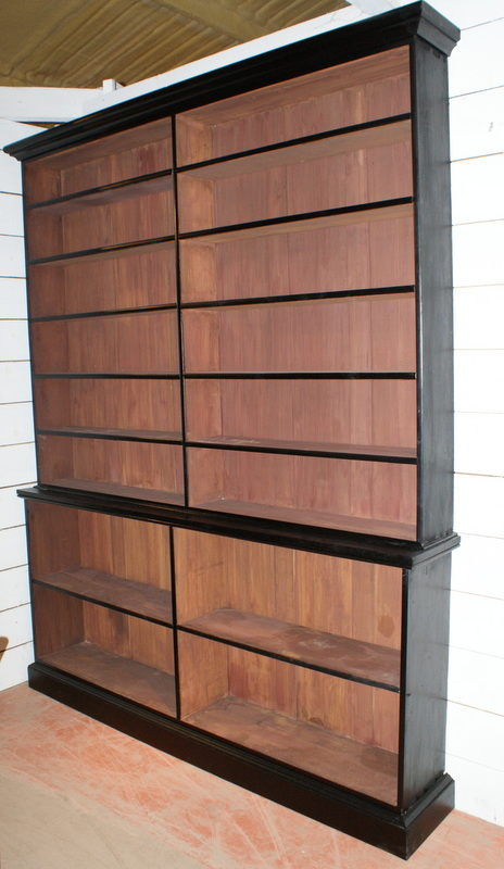 Ebonized Bookcase