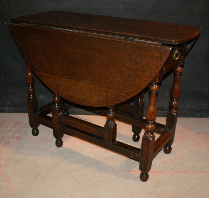 Oak Gate Leg Table Antique Lamp Tables Antique Tables