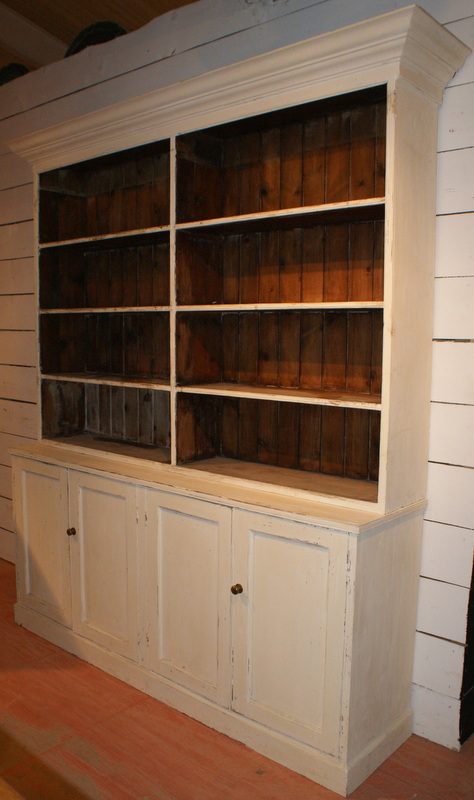 Antique Painted Bookcase