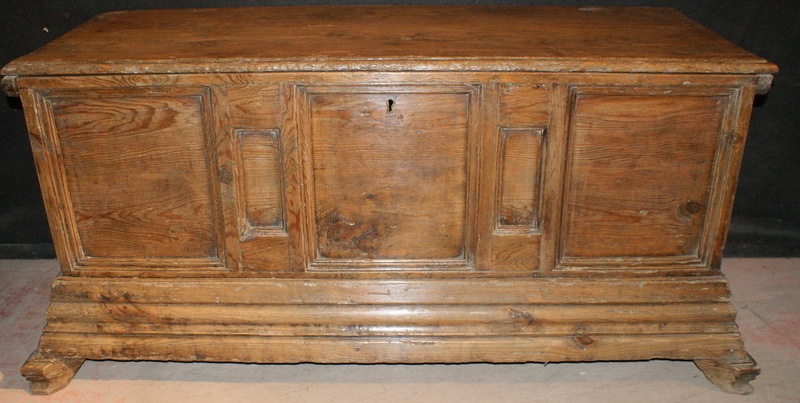Pine & Fruitwood Coffer