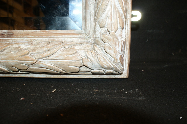 Excellent Carved Pine Mirror