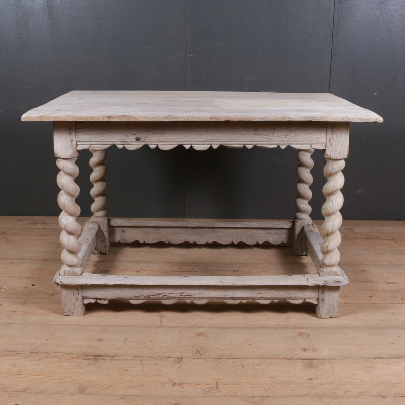 Dutch Oak Side Table