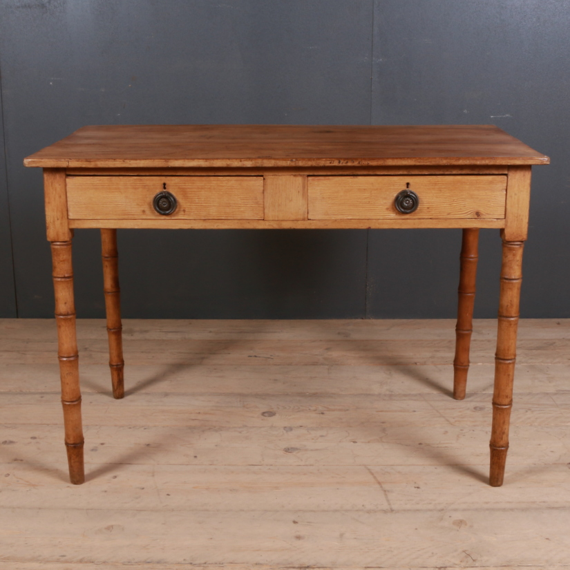 English Faux Bamboo Table