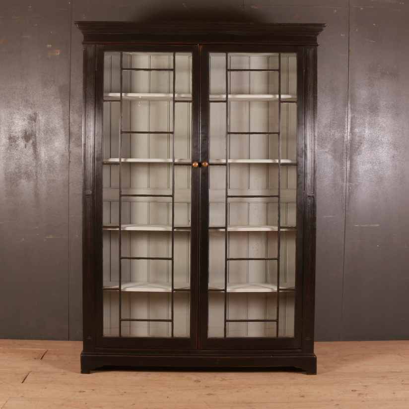 English Glazed Bookcase