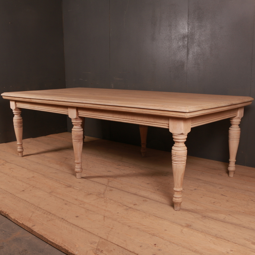 English Oak Farm Table