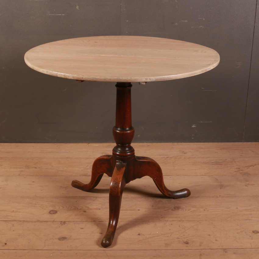 English Oak Tripod Table