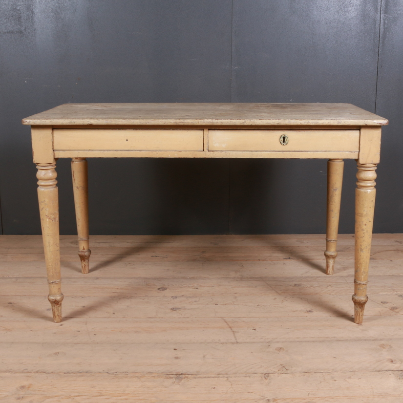 English Original Painted Desk