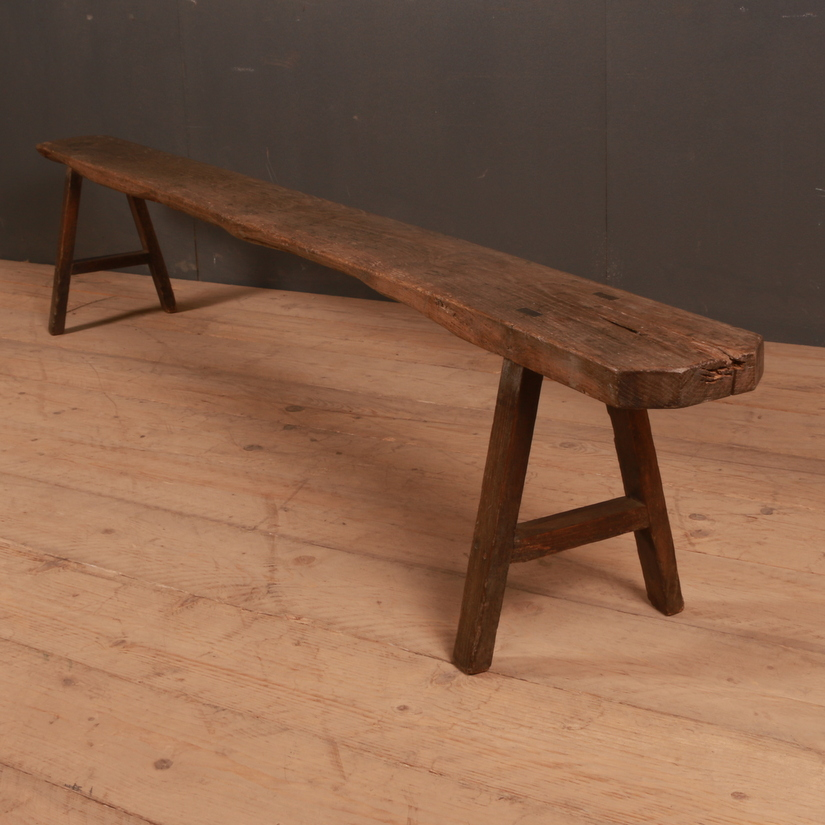 French Oak Bench