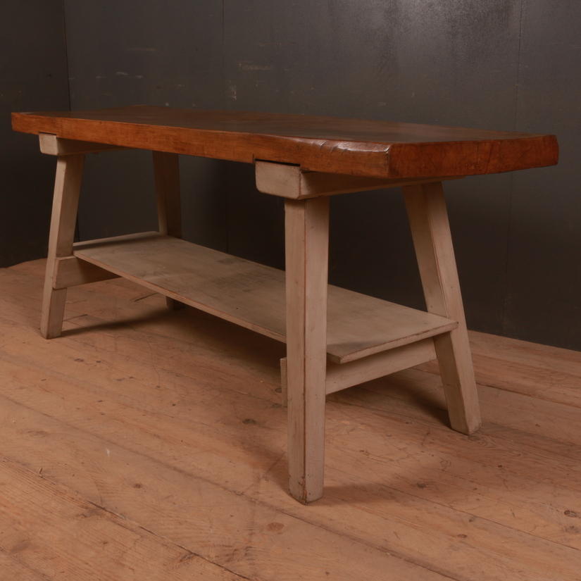 French Potboard Serving Table
