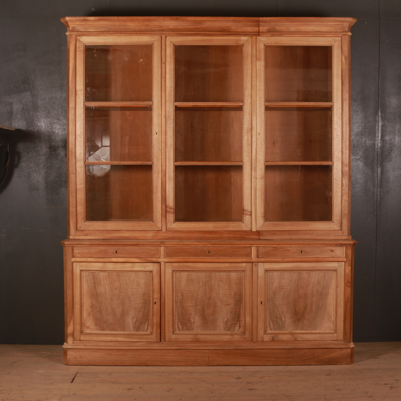 French Walnut Bookcase